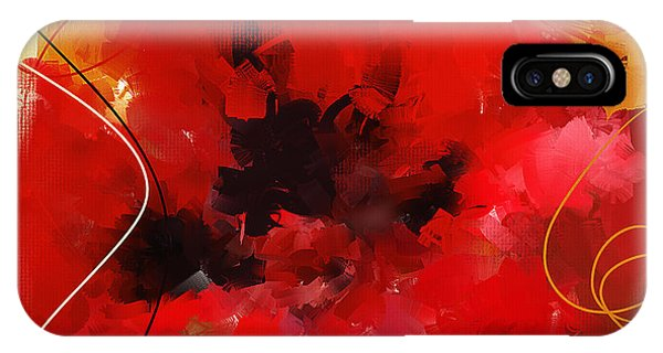 Poppies iPhone Case - Blazingly Poppies by Lourry Legarde