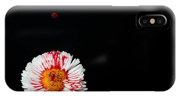 Bleeding Flower IPhone Case