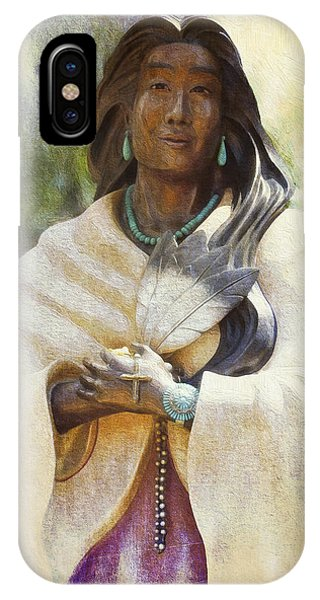 Blessed Kateri Tekakwitha  IPhone Case