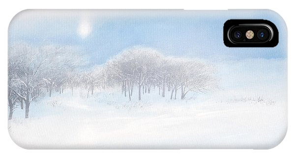 Blizzard Coming IPhone Case