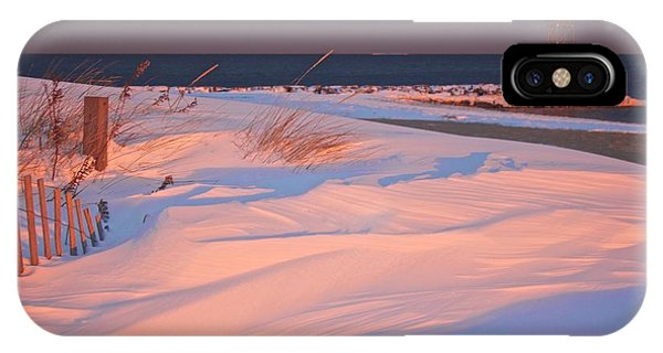 Blizzard Juno Sunset IPhone Case
