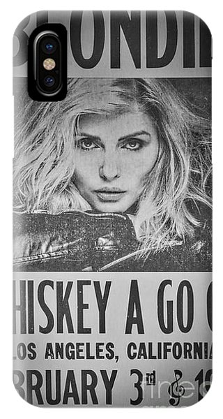 Blondie At The Whiskey A Go Go IPhone Case