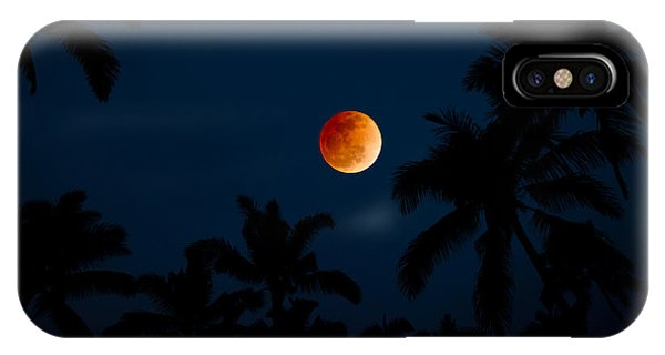 Condo iPhone Case - Blood Moon In The Tropics by Sean Davey