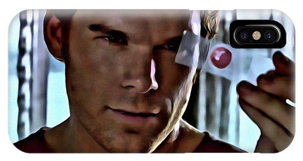 Blood Slide Dexter IPhone Case