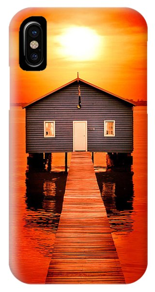 Blood Sunset IPhone Case