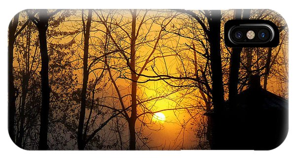 Bloom II Morning Mist Sunrise IPhone Case