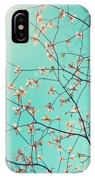 Aqua iPhone Case - Bloom by Kim Fearheiley