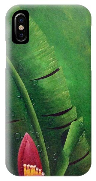 Blooming Banana IPhone Case