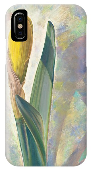 Blooming Iris IPhone Case