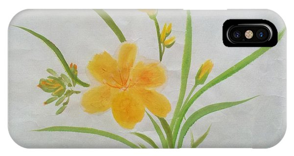 Blooming Lily IPhone Case