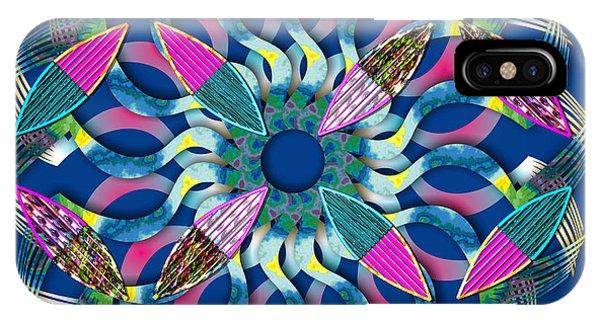 Blooming Mandala 6 IPhone Case