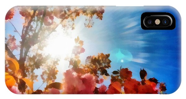 Blooming Sunlight IPhone Case