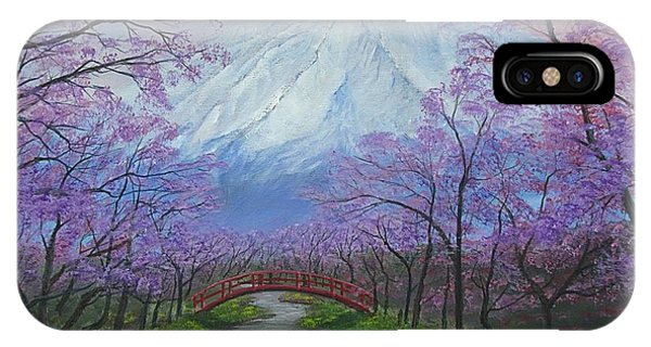 Blooms Of Fuji  IPhone Case