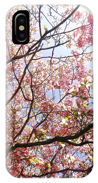 Blossoming Pink IPhone Case