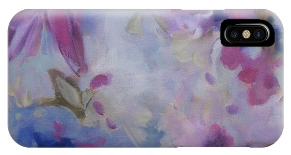 Blossoming V IPhone Case