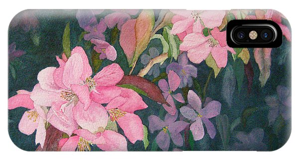 Blossoms For Sally IPhone Case