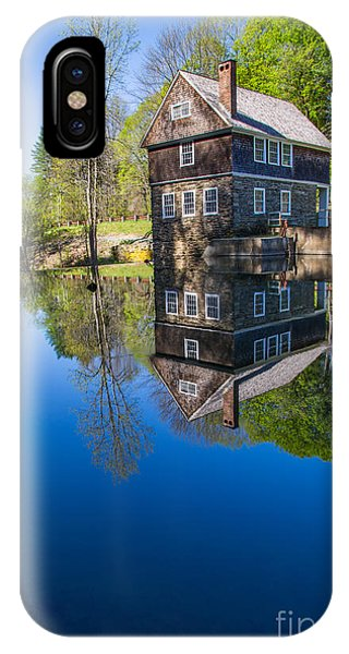 Blow Me Down Mill Cornish New Hampshire IPhone Case
