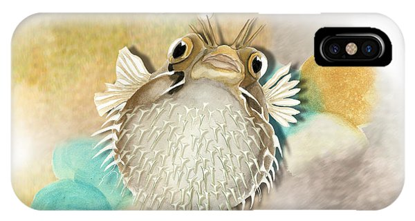 Blowfish IPhone Case