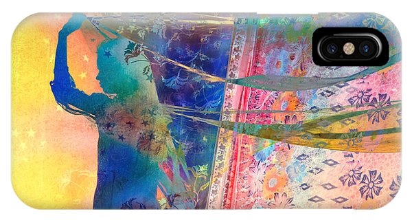 Ethnic iPhone Case - Blowing In The Wind by Tim Gainey