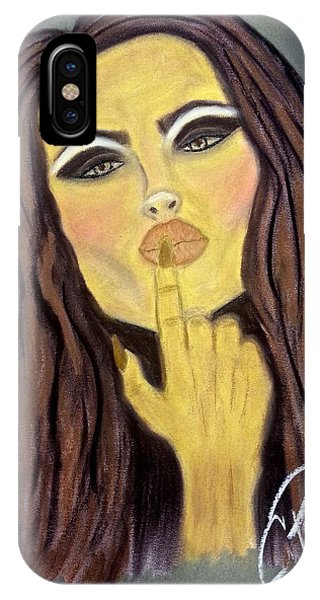 Blowing Kisses IPhone Case