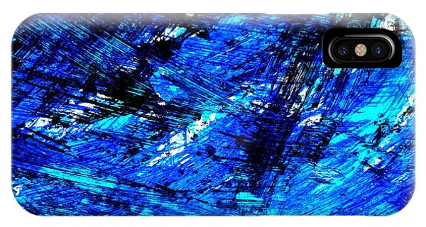 Supply iPhone Case - Blu Abstract 4 by Jason Michael Roust