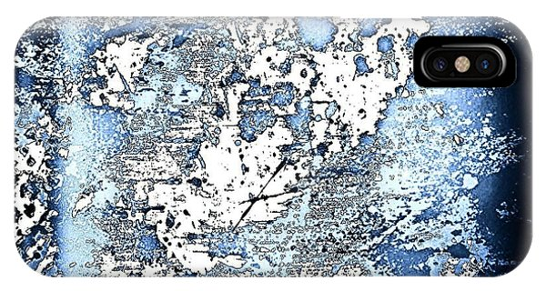 Watercolor iPhone Case - Blu Abstract by Jason Michael Roust