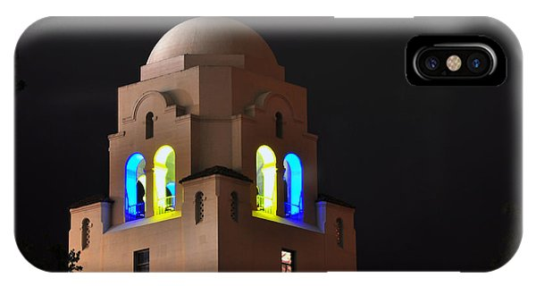 Blue And Gold I-house Dome IPhone Case