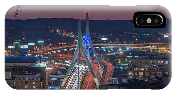 Blue And Red Zakim IPhone Case