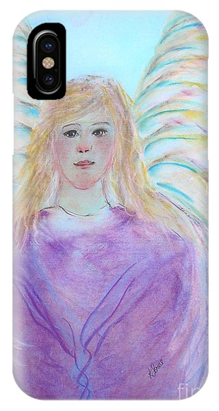 Blue Angel IPhone Case