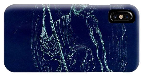Blue Angel Series IPhone Case