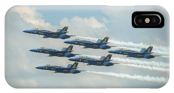 Blue Angels Delta Pass IPhone Case