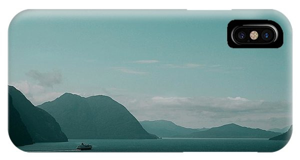 Blue As Fjord IPhone Case
