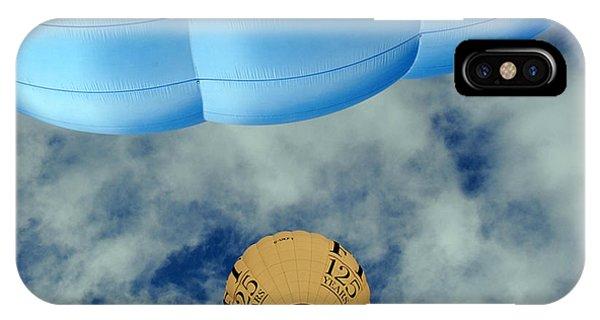 Blue Balloon Phone Case by Stephen Richards