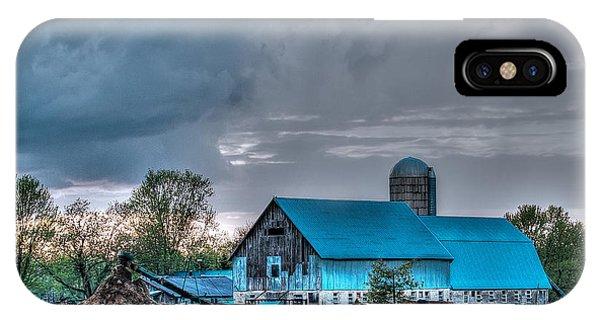 Blue Barn IPhone Case