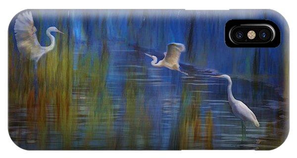 Blue Bayou II IPhone Case