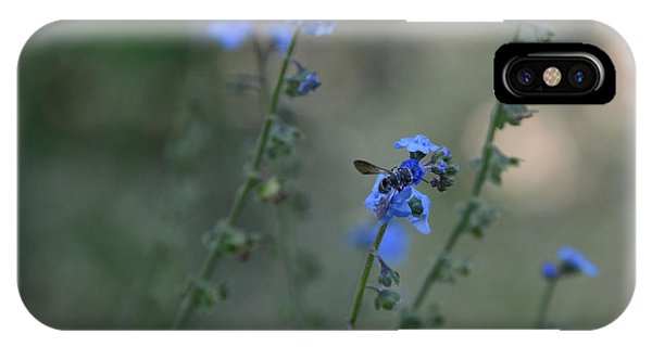 Blue Bee IPhone Case