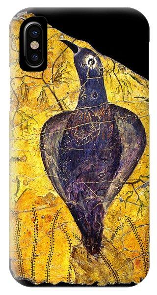 Bogdanoff iPhone Case - Blue Bird by Steve Bogdanoff