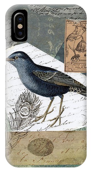 Blue Bird Study IPhone Case