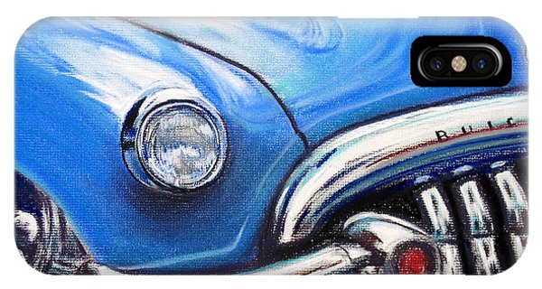 Blue Blue Buick IPhone Case