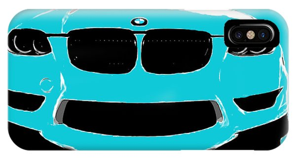 Blue Bmw IPhone Case