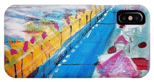 Blue Boardwalk IPhone Case
