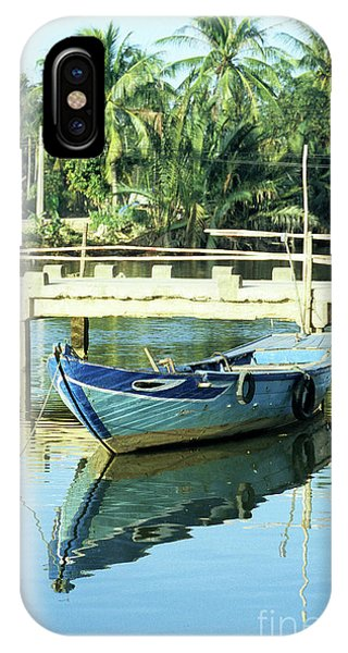 Blue Boat 02 IPhone Case