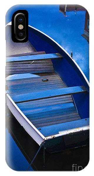 Blue Boat IPhone Case