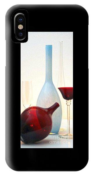 Blue Bottle IPhone Case
