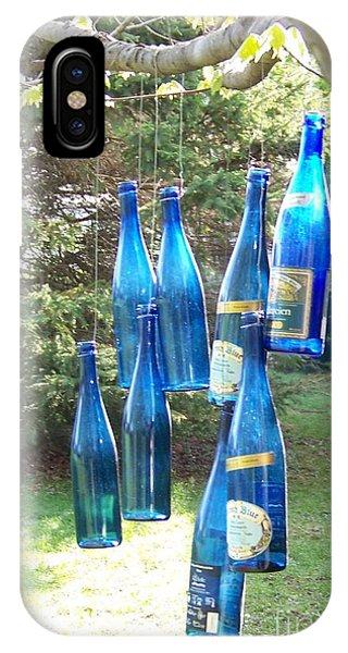 Blue Bottle Tree IPhone Case