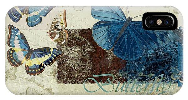 Blue Butterfly - J152164152-01 IPhone Case