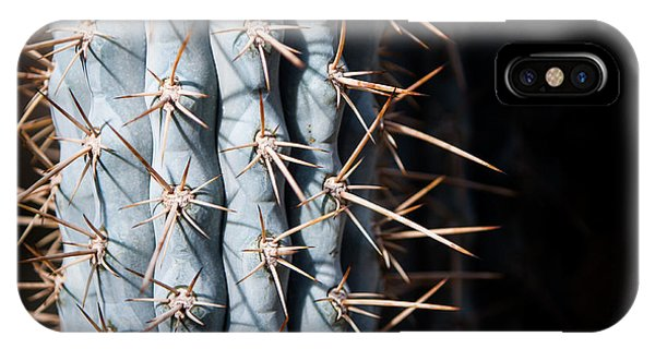 Blue Cactus IPhone Case