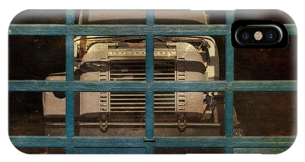 Trucking iPhone Case - Blue Cage by Jeff  Gettis