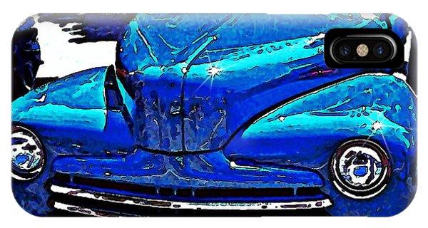 Blue Classic IPhone Case