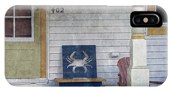 Blue Crab Chair IPhone Case